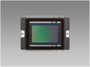 Und so sieht ein APS-C –Sensor am Beispiel einer Eos 450 D aus Foto: Canon