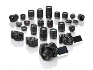 Bei Panasonic findet man das größte Angebot an Systemkameras und passenden Wechselobjektiven Foto: Panasonic