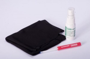 Solche Reinigungssets sind nützlich bei verschmutzten Bildsensoren