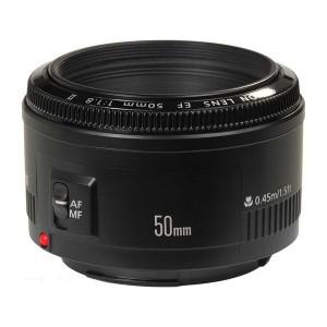 Nicht einmal 100 Euro kostet dieses 50 mm – Objektiv und zählt damit zu den beliebtesten Festbrennweiten überhaupt Foto: Canon