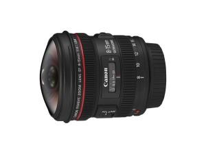 Ein wahres Highend-Fisheye stellt dieses Zoomobjektiv von Canon dar Foto Canon
