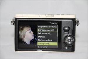 Im Creative-Bereich der Nikon 1 finden Sie die angebotenen Motivprogramme