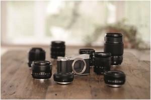 Die X-M1 von Fujifilm zählt zu den kleinsten APS-C - Systemkameras überhaupt Foto: Fujifilm