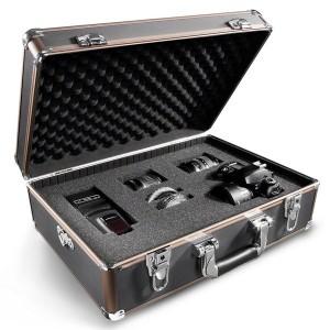 Wollen Sie solche Fotokoffer für die Equipmentlagerung nutzen, sollten Sie den Deckel immer einen Spalt offen lassen Quelle: Foto Walser
