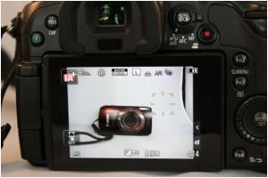 Bei der Panasonic Lumix GH3 stellen Sie durch einfaches Antippen auf den Touchscreen auf ein Objekt scharf