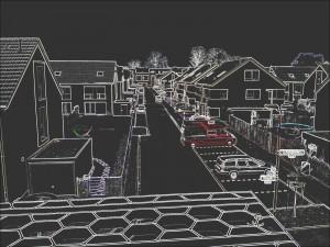 Hier sehen Sie den so genannten Neon-Effekt, der mit Power Cam erzeugt wurde