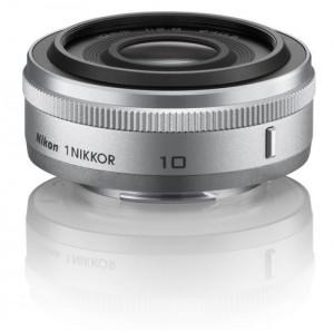 Besitzer der spiegellosen Systemkamera Nikon 1 können auf dieses flache 10-mm-Pancake zurückgreifen Foto: Nikon
