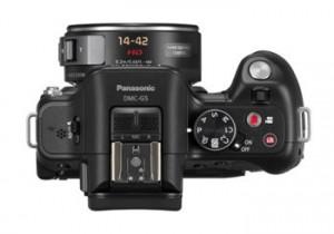 "Bei der Panasonic Lumix G5 versteckt sich die Vollautomatik hinter dem separaten Knopf ""iA"" Foto: Panasonic"