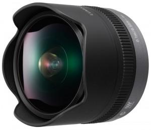 Panasonic bietet für seine Lumix-Systemkameras dieses 8 mm Fischauge an Foto: Panasonic