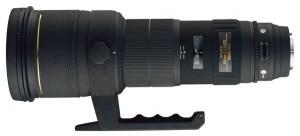 Stolze 6.400 Euro (laut UVP) müssen Anwender für dieses  500mm F4,5 EX DG / HSM berappen Foto: Sigma