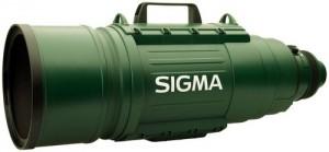 Dieses professionelle 200-500mm – Objektiv von Sigma kostet laut UVP knapp 24.000 Euro Foto: Sigma