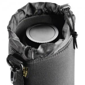 Objektivbeutel schützen Ihre Kamera zuhause und unterwegs für Verschmutzung und Beschädigung Quelle: Foto Walser