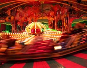 Wie Bewegungsunschärfe kreativ eingesetzt werden kann, zeigt dieses Bild sehr anschaulich Foto: qay  / pixelio.de