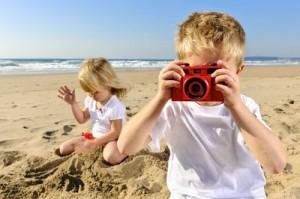 Porträts im Weitwinkelformat sind am Strand echte Hingucker